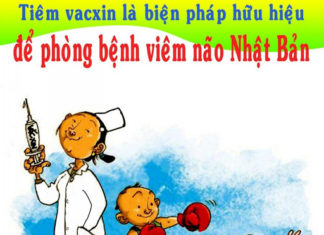 Tiêm vacxin phòng viêm não Nhật Bản B
