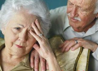 Suy giảm trí nhớ ở người cao tuổi.